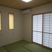和室は他の部屋からは独立したプランです