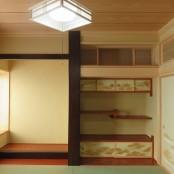 床の間と床脇を設けた続き間の和室